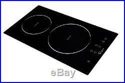 12 Electric 2 Burners Induction Cooktop
