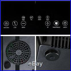 1800W Electric Dual Induction Cooker Countertop Double Burner Cooktop Digital To