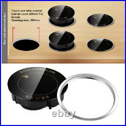 2200W Electric Induction Cooktop Portable Countertop Burner Hot pot Waterproof