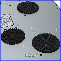 23.5 inch Ceramic Induction Hob 4 Timmer Zone Stove Cooktop Household Cooker