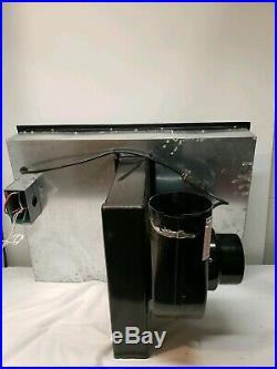 30 Jenn Air Cooktop Electric Downdraft Radiant 4 Burner Stovetop CVE3400 Black