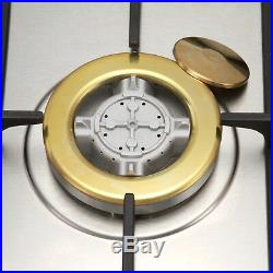 30 Stainless Steel Built-in 5 NG Gas Stoves Natural Gas Hob METAWELL Cooktops