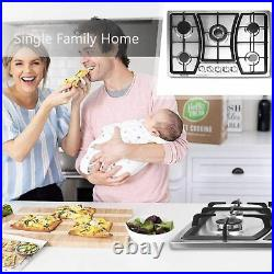 30 inches &35inch Gas Cooktop 5 Burners Gas Stove Cooktop for natural gas only