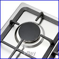 30inch Steel 5 Burner Built-in Stoves Natural Gas Hob Cooktops for Kitchen, USA