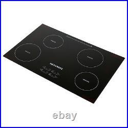 31.5 Portable Induction Cooktop Countertop Burner Electric Stove 4 Burners US