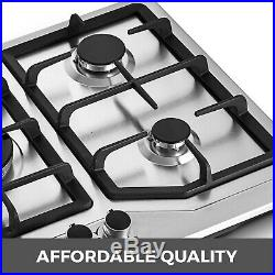 33.8 5 Burners LNG/LPG Gas Cooktops Cooker Durability Gas Cooking High Heat