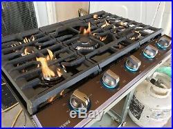 36 Samsung Cook Top Black stainless Steel