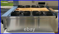 36 Viking Professional Rangetop Cooktop With Griddle