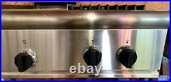 48 Thermador GAS Cooktop 6 Burners & Skillet Model GPS486GDS Bonita Springs FL