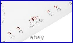 5906006235482 Amica PI6140PWTU Kochfeld Weiß Integriert Zonen-Induktionskochfeld