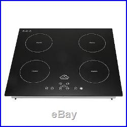 60cm 220V Induction Cooktop Electric Hob Cook Top Stove Ceramic Black Glass