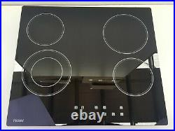 60cm Electric Cooktop 600mm Haier Hce604tb2 Ceramic 4 Burner Zone Touch Control