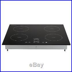 60cm Windmax Frameless Electric Induction Hob Ceramic Kitchen 4 Burner Hob