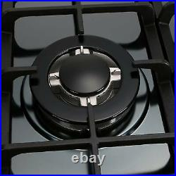 68cm/27 5 Burner Gas Cooktop Stainless Steel NG/LPG Conversion Cook Top Stove