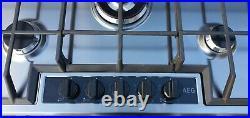 AEG HG755450SY 75cm 5 burners Gas Hob with Wok Burner S/Steel
