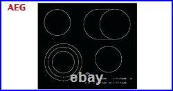AEG HK654070IB Bulit-in 60cm Electric Ceramic Kitchen Hob Black New