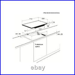 AEG HK764070FB Bevelled Edge 72cm Touch Control Ceramic Hob