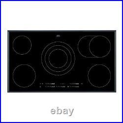 AEG HK955070FB Touch Control 90cm Wide Ceramic Hob Black HK955070FB