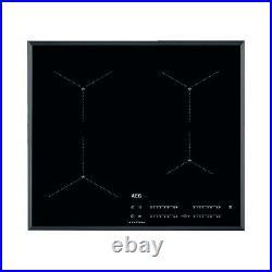 AEG IAE64411FB 60cm SenseBoil Four MaxiSense Zone Induction Hob With Bevelled Ed