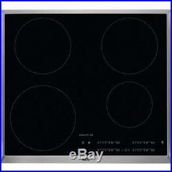 AEG IKB64401XB 60cm Induction Hob in Black/Stainless Steel 2 Year Warranty