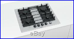 BOSCH PPP6A2M90 60cm Built-in White Ceramic Glass Kitchen Gas Hob New
