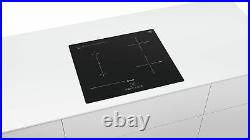 BOSCH PVS611BB5E Built In Black Kitchen Induction Hob Frameless Design New