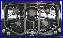 Beautiful Black Jenn-air 5-burner 36inch Gas Cooktop Jgc8536adb