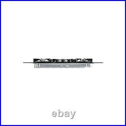 Belling GTG75C 75cm Front Control Five Burner Gas-on-glass Hob Black