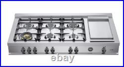 Bertazzoni 48 Master Series Rangetop CB48M6G00X