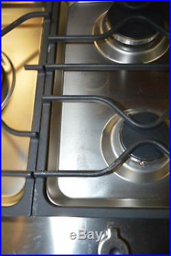 Bertazzoni PM363I0X 36 Stainless Segmented Gas/Induction Cooktop NOB #20913