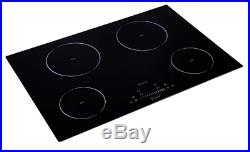 Best Electric Induction Cooktop With 4 Booster Burners And 9 Heat Level Settings
