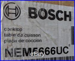 Bosch 36 500 Series Cooktop NEM5666UC Black NEW