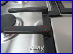 Bosch 500 Series 30 Natural Gas 4 Sealed Burner Low-Profile Cooktop NGM5055UC