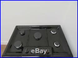 Bosch 800 Series 30 5 Burner Red LED Black Stainless Gas Cooktop NGM8046UC IMGS