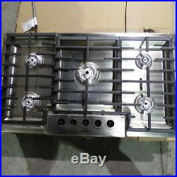 Bosch NGM5655UC 36 Gas Cooktop 5 Burners (Knobs & Burner Covers not included)