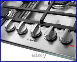 Bosch NGM8065UC 30 800 30 5 Burners Stainless Steel Gas/Liquid Propane Cooktop