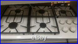 Bosch NGP932UC/01 36 WHITE GAS COOKTOP NEW IN BOX OLD INVENTORY