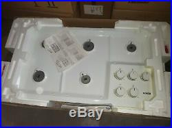 Bosch NGT932UC/01 36 WHITE GAS COOKTOP NEW IN BOX OLD INVENTORY