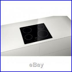 Bosch PKE611B17E Electric Built-in Ceramic Kitchen Hob Black Frame-less design