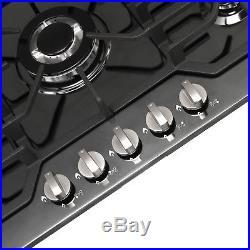 Brand METAWELL 30Built-in Cooktop Stove LPG/NG Gas Hob Cooker Black Titanium