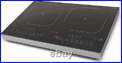 CASO ProGourmet 3500 Induktionskochplatte doppelt mobil, 3500W Powersharing