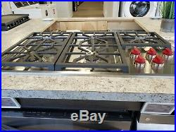 Cg365ps-wolf 36 Pro Cooktop, 5 Burners Display Model