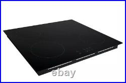Cookology CIH602 60cm 4 Zone Built-in Touch Control Induction Hob in Black