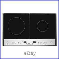 Cuisinart ICT-60 Double Induction Cooktop Black NEW