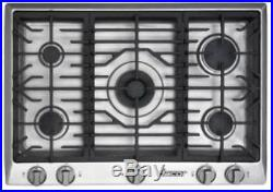DACOR Distinctive DCT305SNG 30 Gas Cooktop with 5 Sealed Burners Stainless