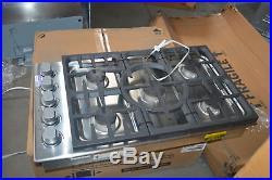 DCS CDU365N 36 Stainless Natural Gas 5 Burner Cooktop NOB #27752 HL