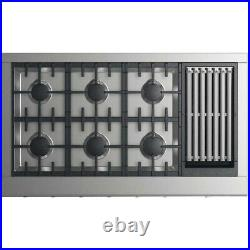 DCS CPV2486GLN 48 Stainless 6 Burner Grill Rangetop Cooktop #51646