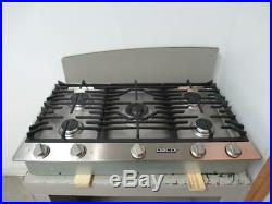 Dacor 36 5 Sealed Smart Flame Burners Natural Gas Stainless Cooktop DCT365SNG