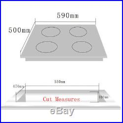 Delikit A 24 4 burners gas cooktop gas hob NG/LPG dual fuel sealed S. S panel