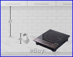 DuxTop Portable Induction Cooktop Countertop Burner, 1800-Watt, 8100MC by Secura